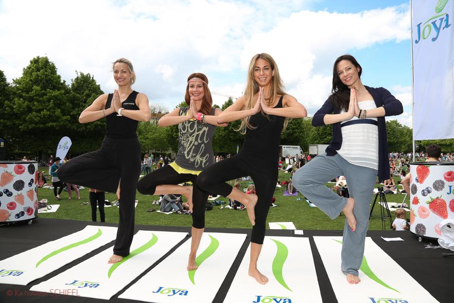 Diane Lueger-Gitta Saxx-Yvonne Rueff-Regina Kail @ Joya Yoga Convention