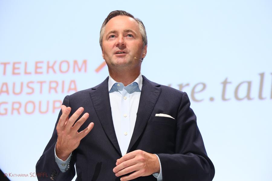 Hannes Ametsreiter-CEO Telekom Austria Group