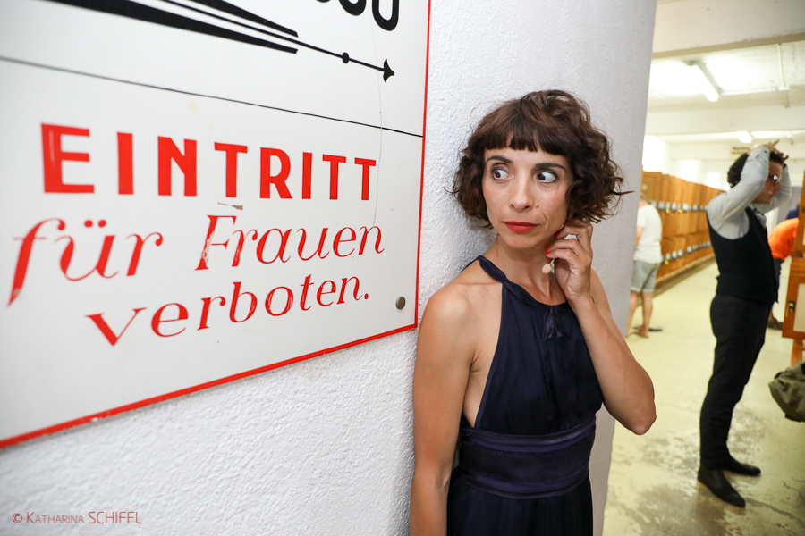 Ruth Brauer-Kvam und Manuel Rubey bei Der Schwimmende Salon @ Th