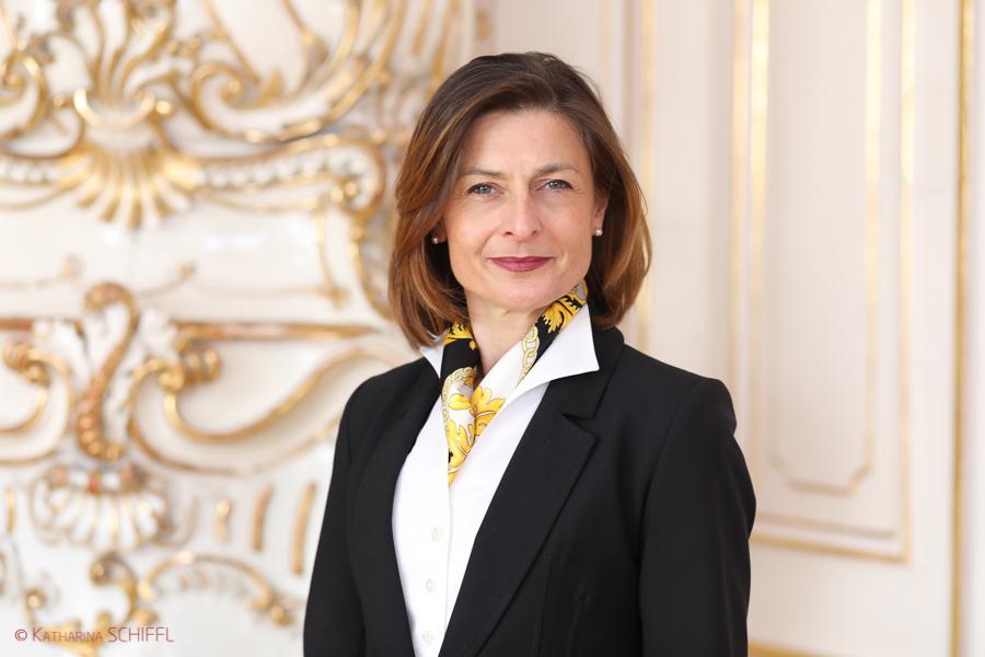 Wiener Kongresszentrum Hofburg Geschäftsführerin Mag. Alexandra Kaszay