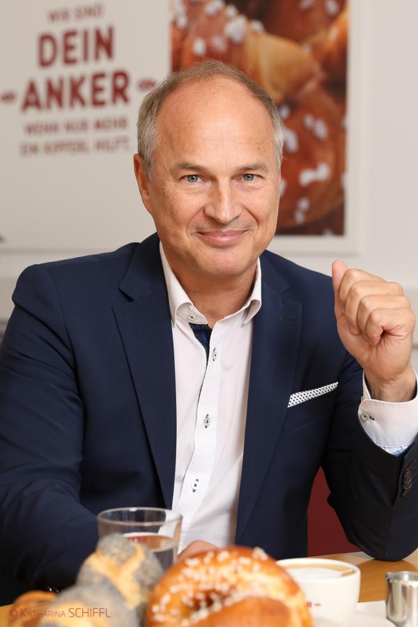 Ankerbrot Geschäftsführer Walter Karger