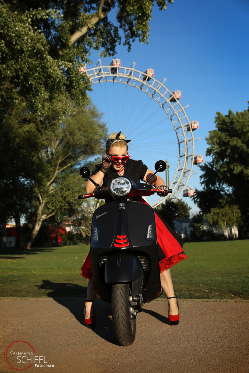 VESPA Fotoshooting @ Wiener Riesenrad