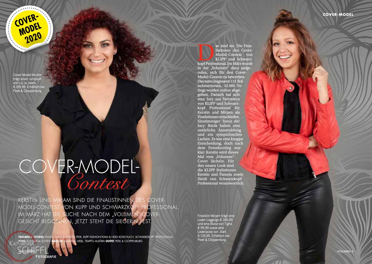 KLIPP Schwarzkopf – Cover-Model 2020 – Fotoshooting @VOLUMEmagaz