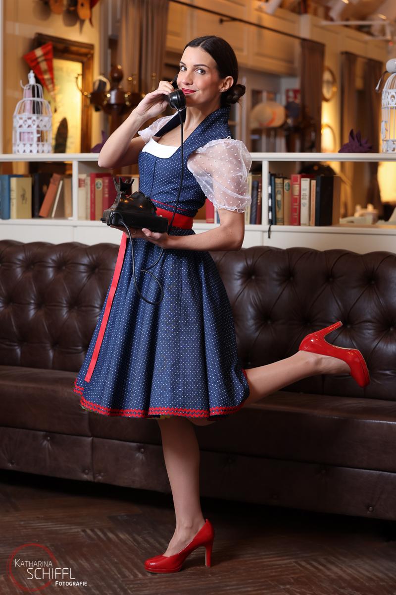 Dirndlherz Fashion-Fotoshooting @ Landtmann das Bootshaus