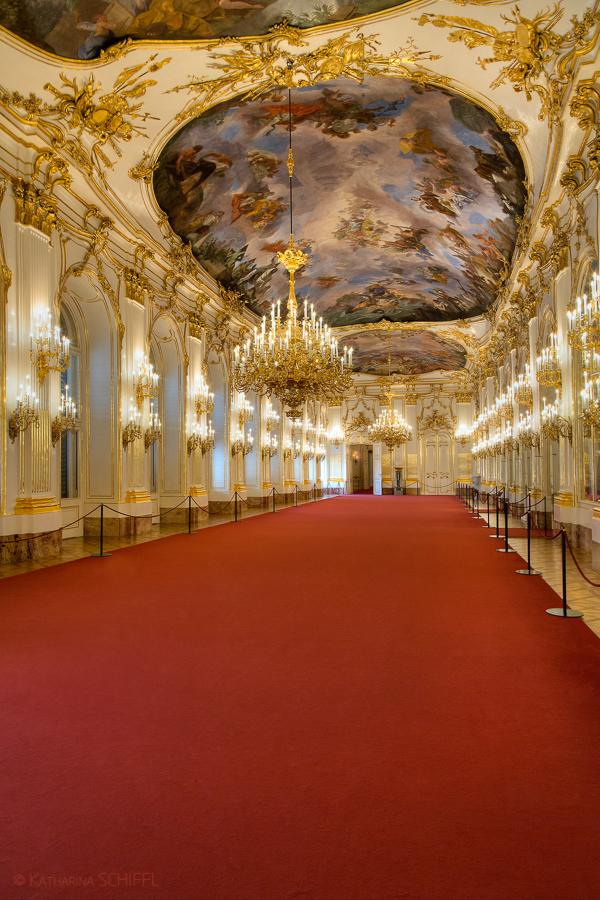 Schloss Schöenbrunn Grosse Gallerie