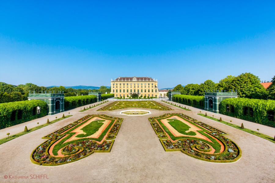 Schloss Schoenbrunn Kronprinzengarten