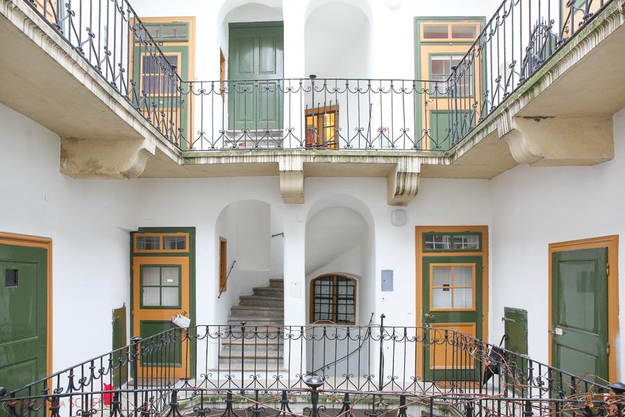 Wiener Innenhof Architektur
