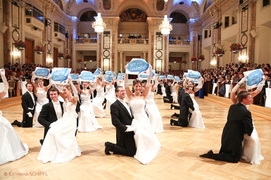 WU Ball 2014 @ Hofburg Vienna – Lern was Gscheits
