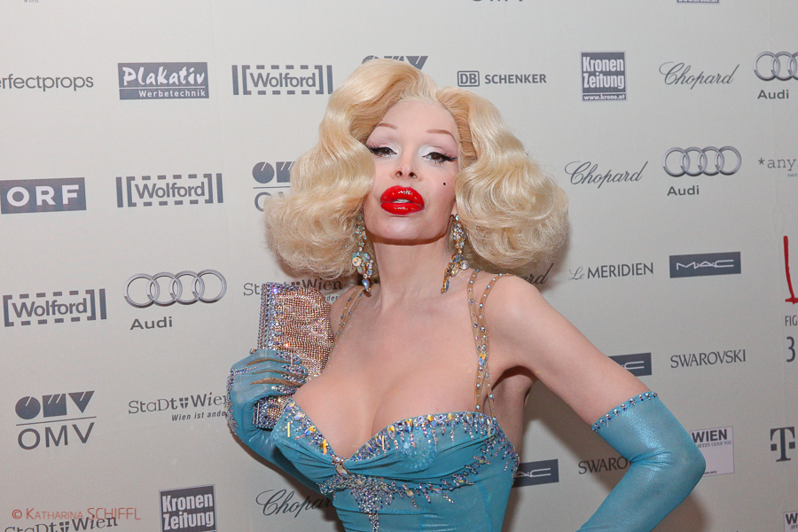 Amanda Lepore bei Life Ball Welcome Cocktail @ LeMeridien Vienna