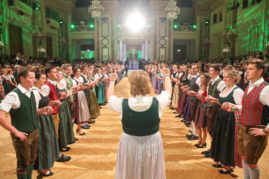 Steirerball 2015 Quadrille @ Hofburg Vienna