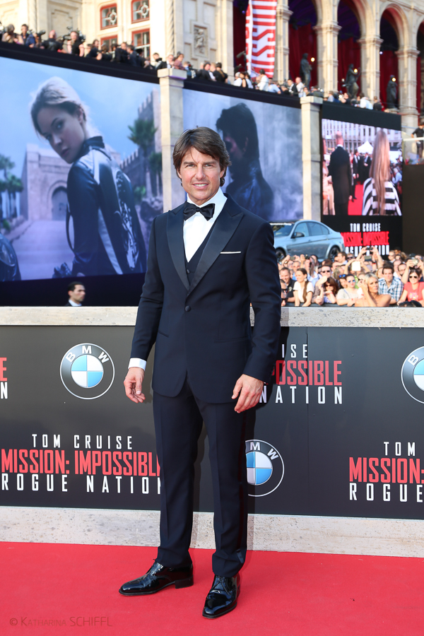 Tom Cruise bei Mission Impossible Premiere @ Wiener Staatsoper