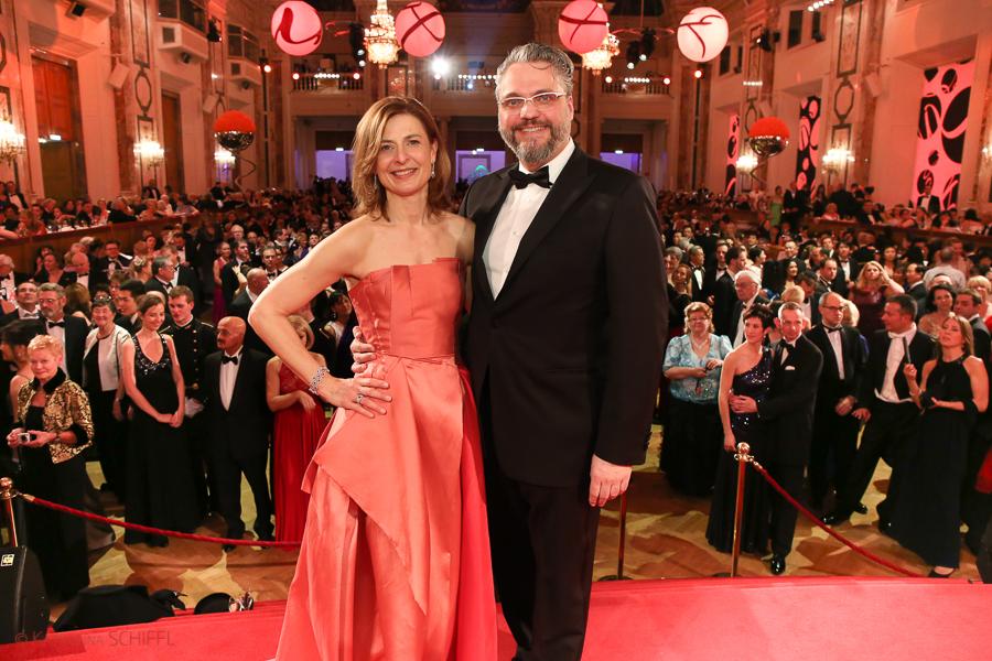 Alexandra Kaszay und Christof Cremer @ Hofburg-Silvesterball
