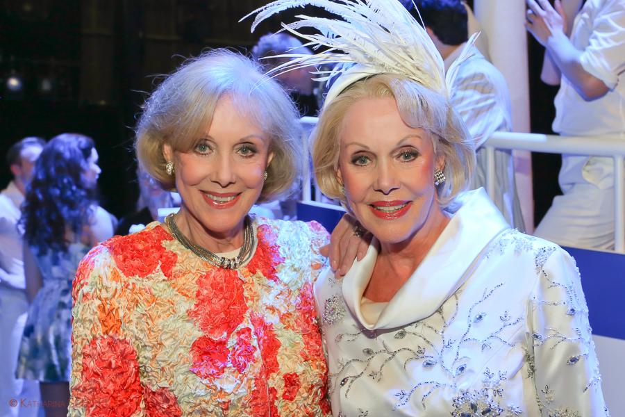 Alice und Ellen Kessler Premiere bei Ich war noch niemals in New York @ Raimund Theater Wien