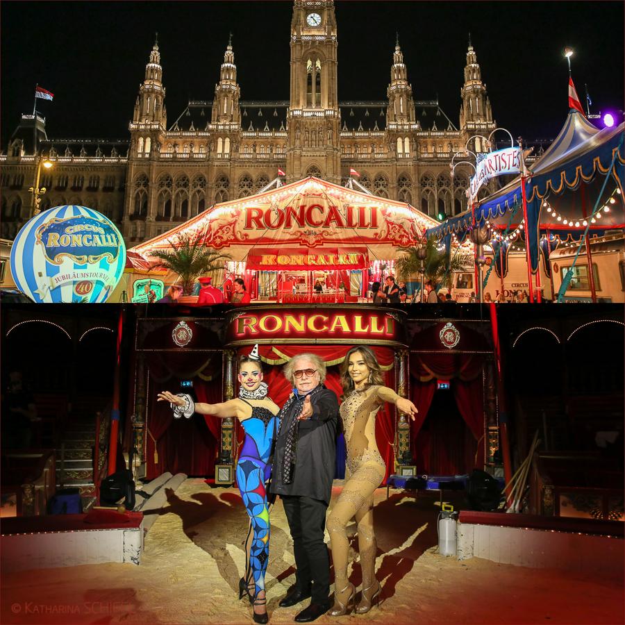 Circus Roncalli Premiere @ Wiener Rathausplatz