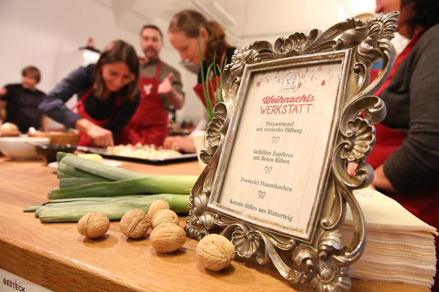 Tante Fanny Weihnachtswerkstatt @ ichkocheat-Kochschule