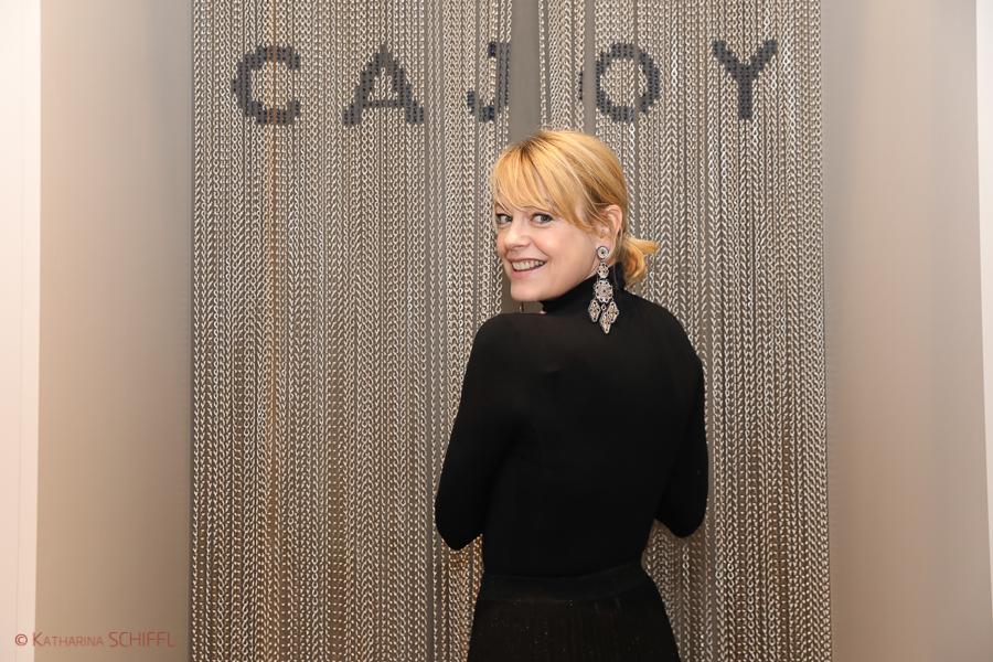 Elke Winkens @ CAJOY Jewellery Opening
